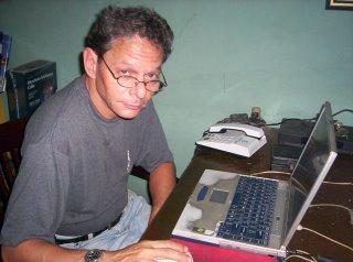 Manuel David Orrio, el periodista.