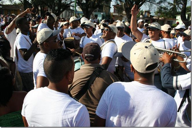 conga cubana desfile