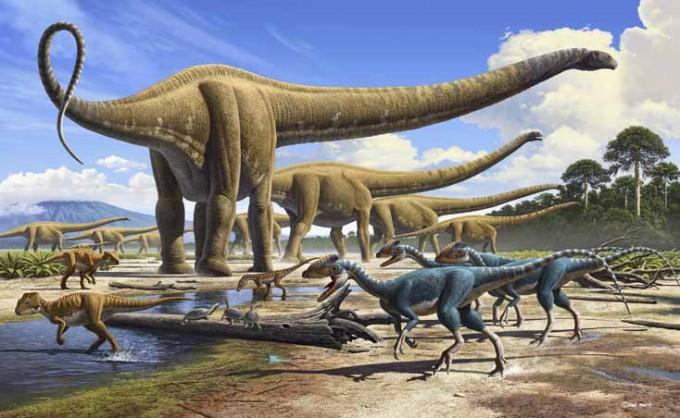 Dinosaurios-hábitat