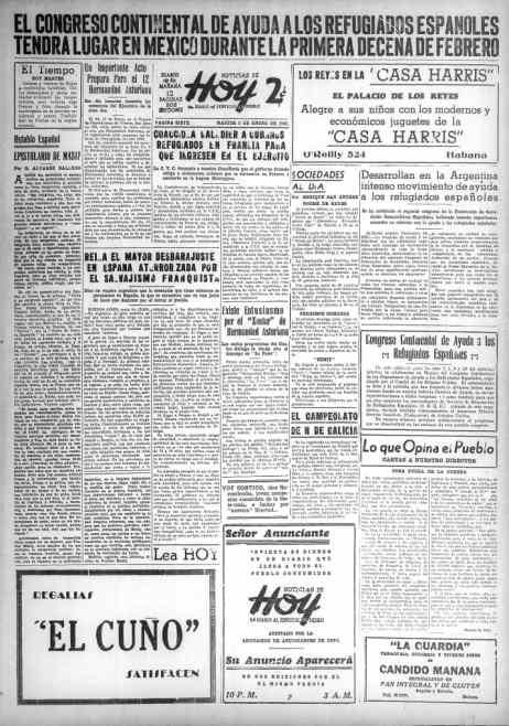 Los comunistas cubanos invitan a los anunciantes a su periódico.