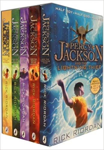 libros de percy jackson