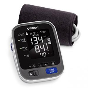 Omron 10 Series Wireless Upper Arm Blood Pressure Monitor with Cuff that fits Standard and Large Arms (BP786N) with Bluetooth Smart Connectivity