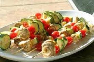 vegetable spiedini