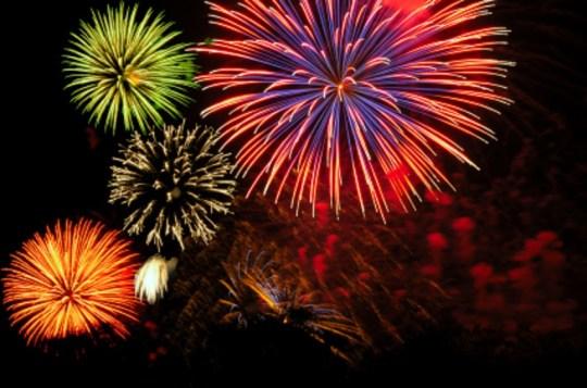 Fireworks cluster