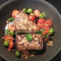 Italian Style Tuna Steaks For Dinner