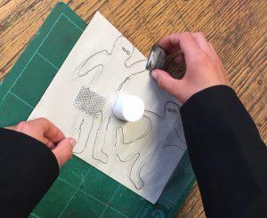 jo-vincent-workshop-glass-design-wire-drawings-cyanotype