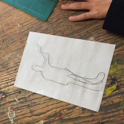 jo-vincent-workshop-glass-design-wire-drawings