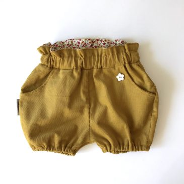 Bloomers   cord   yellow