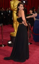 Margot Robbie in Saint Laurentrds Oscars, Arrivals, Los Angeles, America - 02 Mar 2014