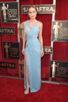 Brie Larson in Versace