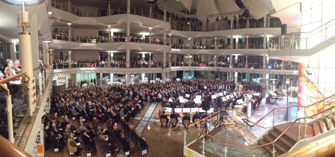 Neujahrs-Konzert zusammen mit der Staatskapelle Halle in Schkeuditz | 2015