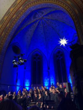 Gospeljubiläumskonzert am 15.12.2018 in der Pauluskirche Halle