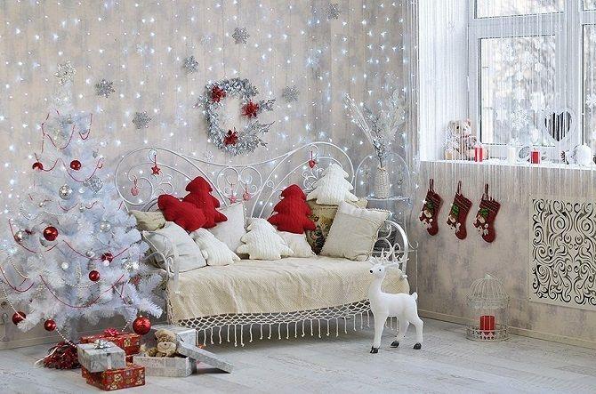 Comment décorer la chambre des enfants pour la nouvelle année