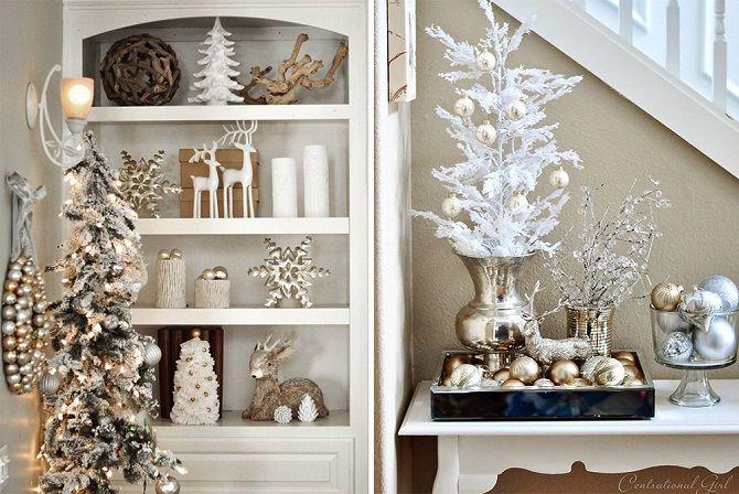 Comment décorer la chambre pour la nouvelle année 2021: Les meilleures idées de la décoration du nouvel an 22