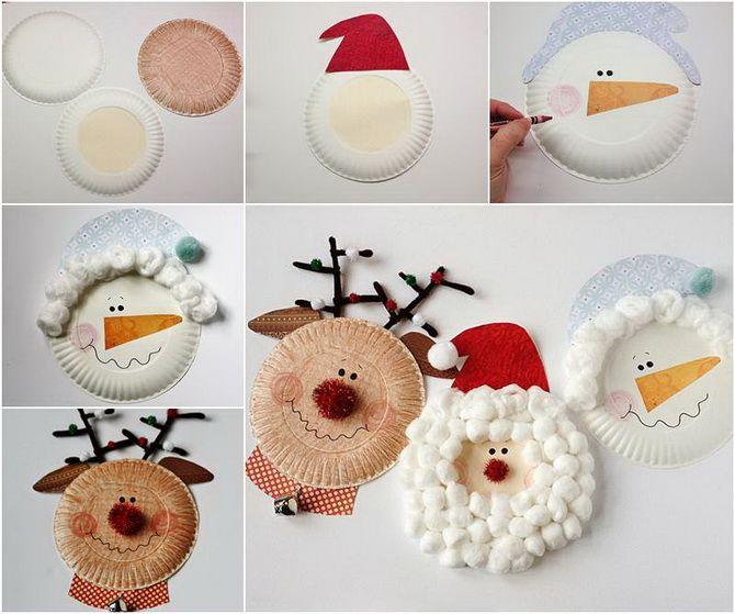Nyttårs leksaker snögubbe foto