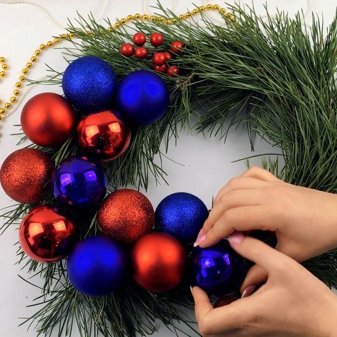 Рождестволық гүл шоқтарын қалай жасауға болады