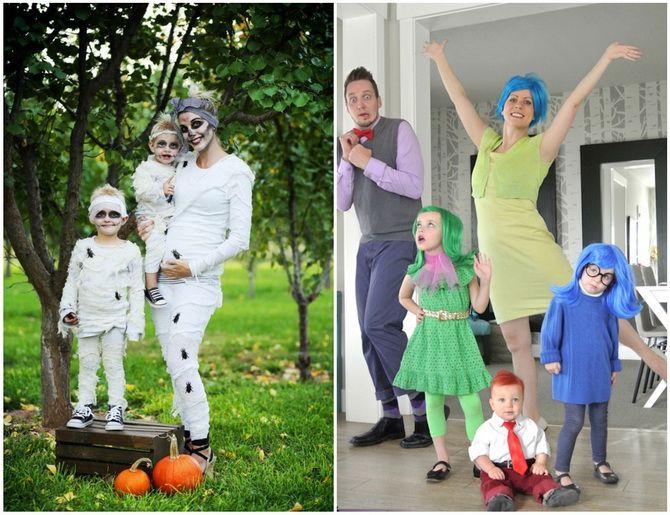 Halloween kostume med dine egne hænder: enkle og budget muligheder for hele familien 14
