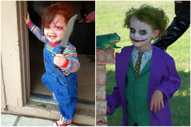 Trang phục Halloween: Tùy chọn đơn giản và ngân sách cho cả gia đình 24