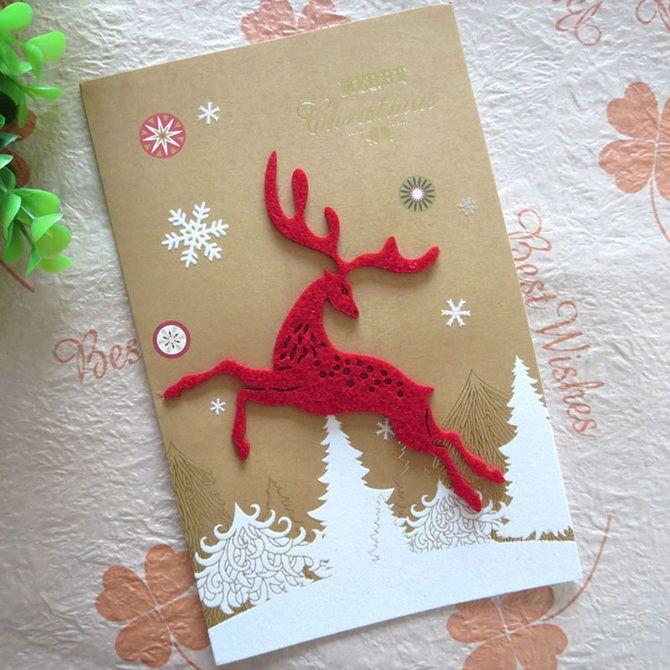 کارت پستال های جدید را با دستان خود ایجاد کنید: کارگاه های ساده 22