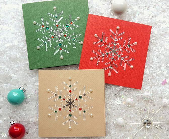 Өз қолыңызбен жаңа жылдық ашықхаттар жасаңыз: Қарапайым семинарлар 23