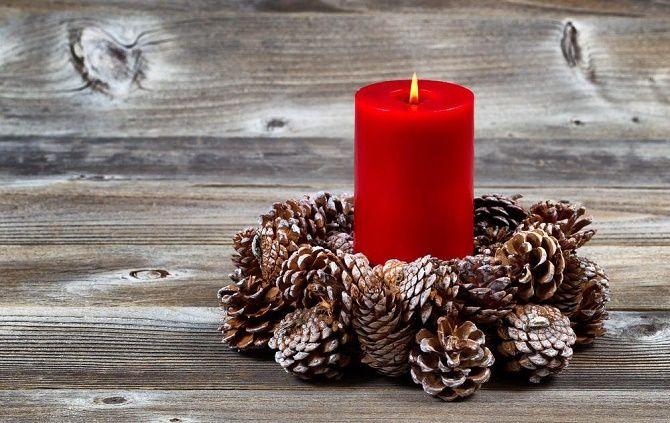 چگونه می توان شمعدانهای سال نو را انجام داد - بهترین ایده ها 8