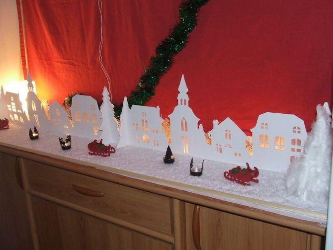 Новогодний домик – поделка своими руками 15
