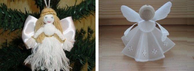 Новогодние ангелочки своими руками: простые мастер-классы на фото и видео, подборка идей от Joy-pup 26