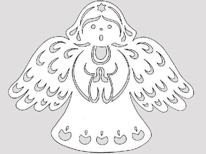Новогодние ангелочки своими руками: простые мастер-классы на фото и видео, подборка идей от Joy-pup 9