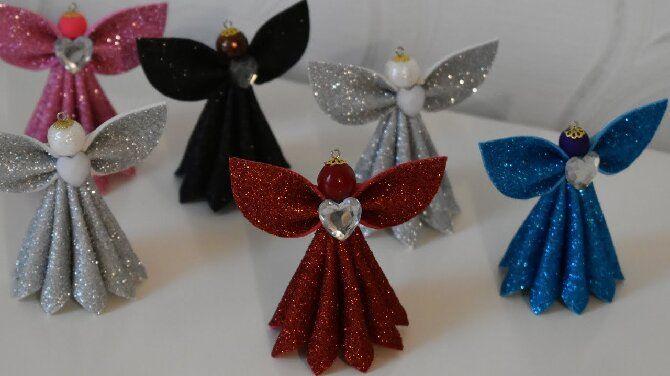 Новогодние ангелочки своими руками: простые мастер-классы на фото и видео, подборка идей от Joy-pup 17