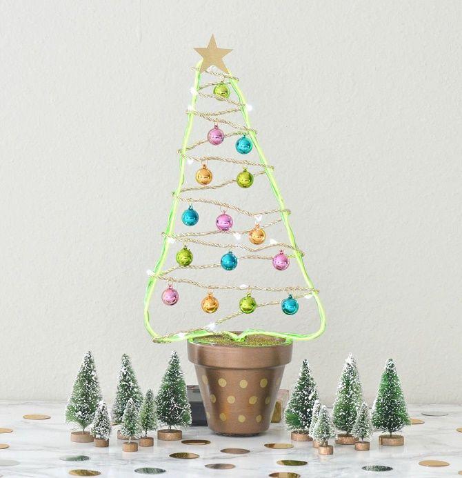 Cum să faci un copac de Crăciun neobișnuit pentru Anul Nou 2021: idei cool cu fotografie 14