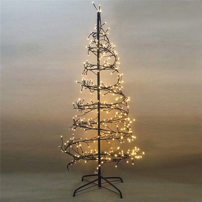 Cum de a face un copac de Crăciun de sârmă neobișnuit pentru Anul Nou 2021: idei cool cu fotografie 2
