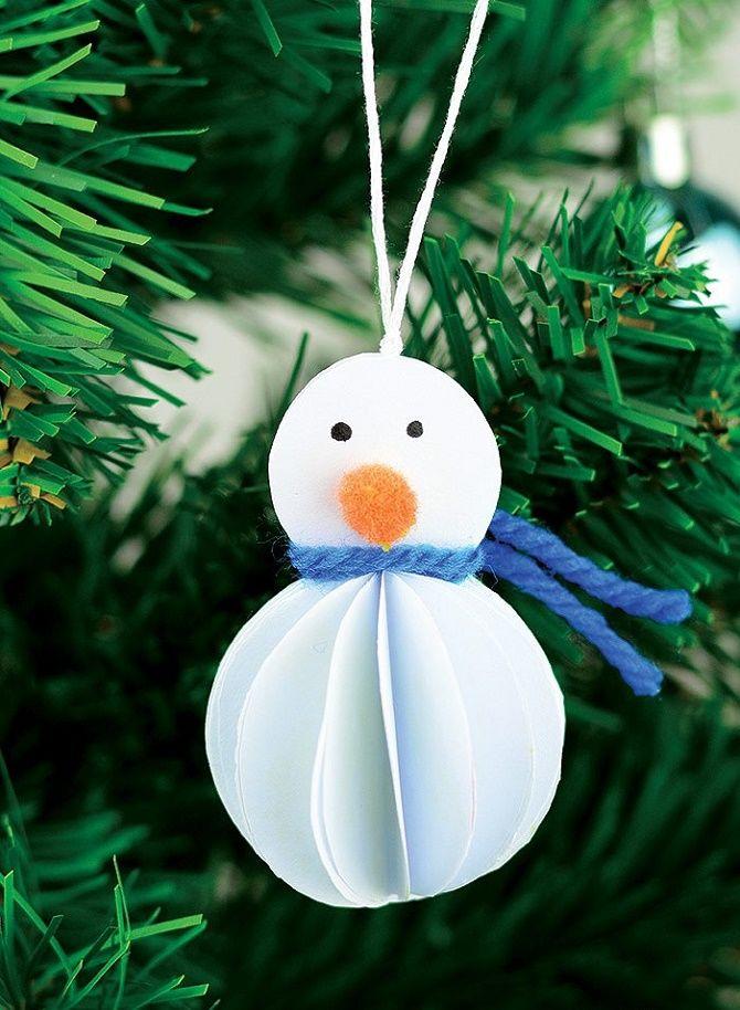 Әдемі және ерекше Рождестволық ойыншықтар қағаздан қалай - өз қолыңызды қалай жасауға болады
