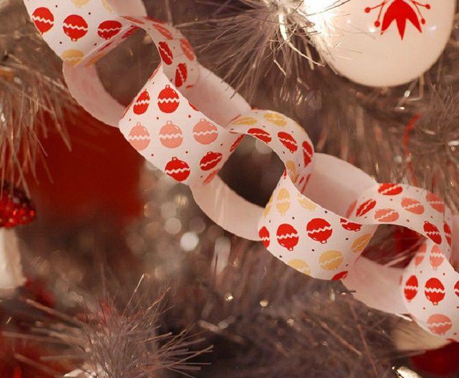 Mainan Krismas yang indah dan luar biasa dari kertas - bagaimana untuk membuat tangan anda sendiri 7