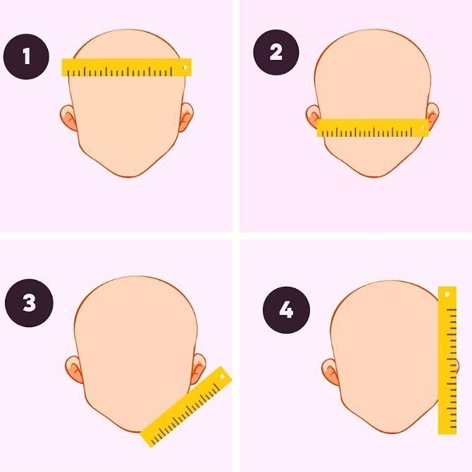 Cách chọn một chiếc mũ ở dạng khuôn mặt - chọn mũ 2
