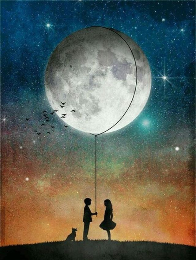Полнолуние в мае 2021: Цветочная Луна и Суперлуние 4