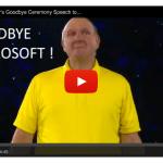 Microsoft CEO Steve Ballmer's Epic Goodbye