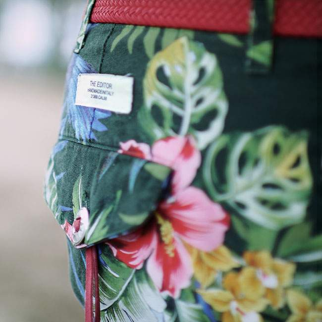 short floral the editor
