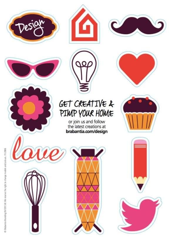 PIMP OUR PRINT BRABANTIA et Mondialisez votre Design