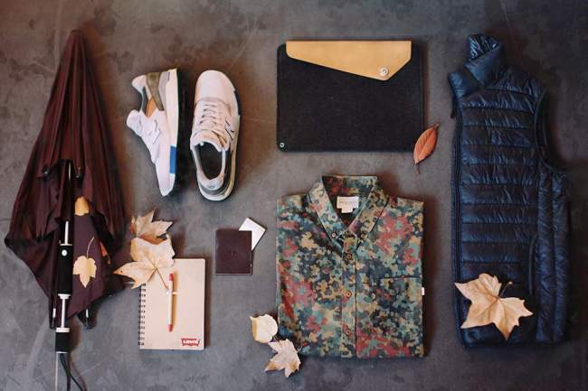 MY ESSENTIALS FOR THE AUTUMN
