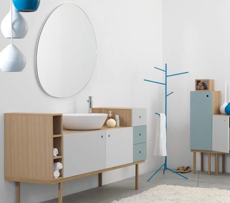 Miroir design STONE par EX.T x STUDIO63