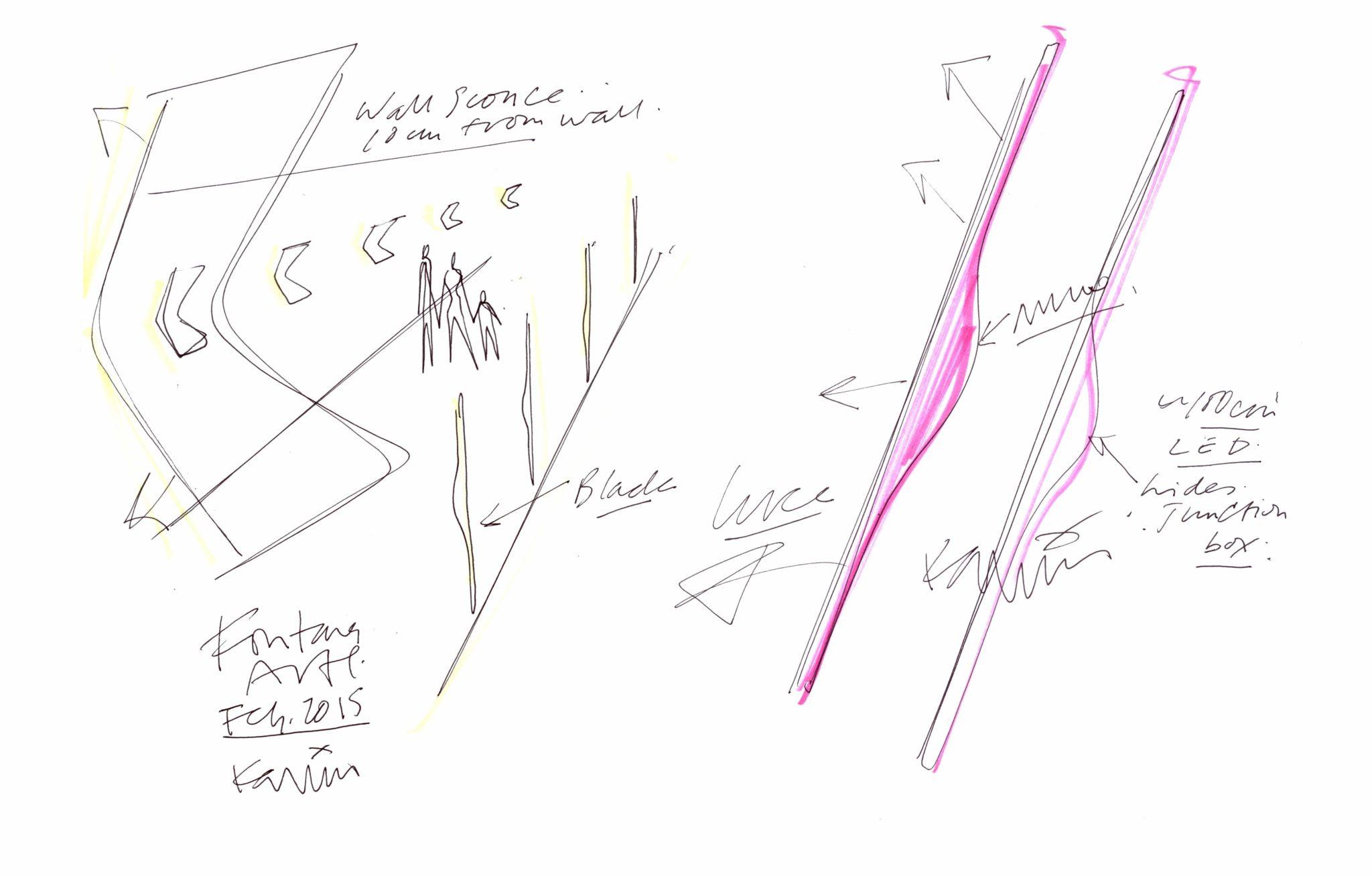 Fontana_Arte_Karim Sketch_1