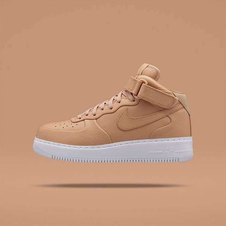 BLOG NikeLab Air Force 1 Mid Tan BLOG SNEAKERS 3