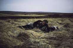 Sièste dans les steppes d'islande