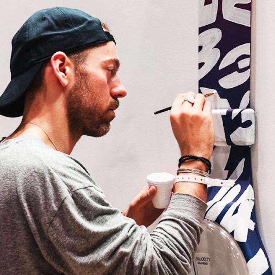 Artiste français Tyrsa typographie