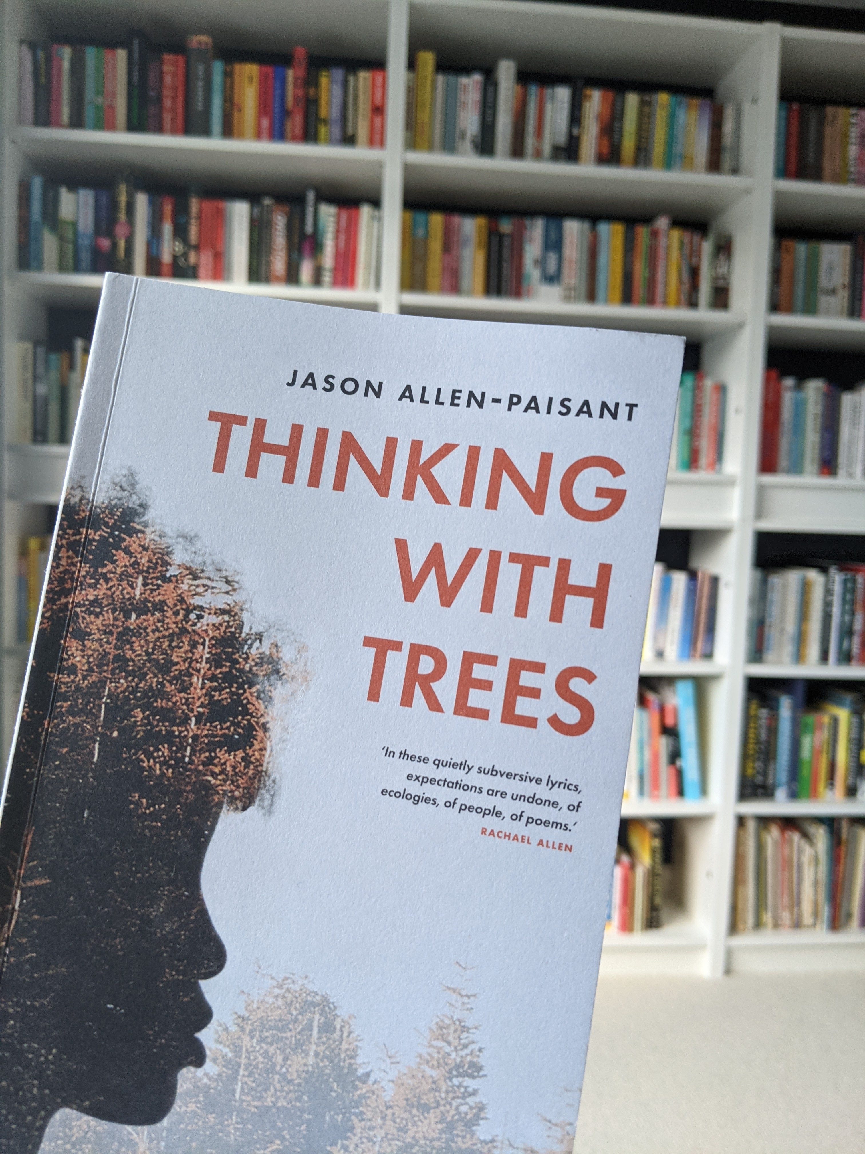 Cover of Thinking with Trees, Jason Allen-Paisant