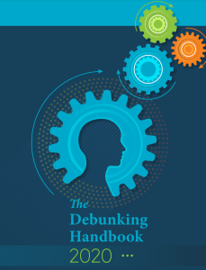 Screenshot of a research paper cover - The Debunking Handbook 2020