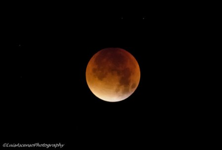 the blood moon by Luis Ascenso