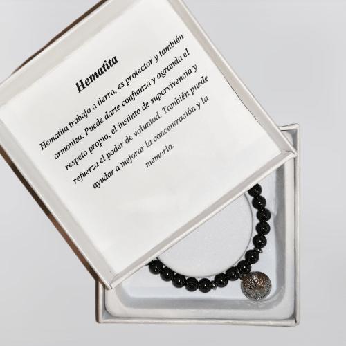 Pulsera de Hematita Black