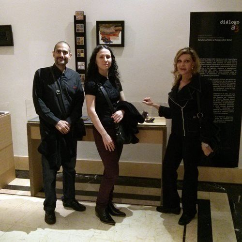 AJA - Visita Exposición Dialogo a3 en el MNAD