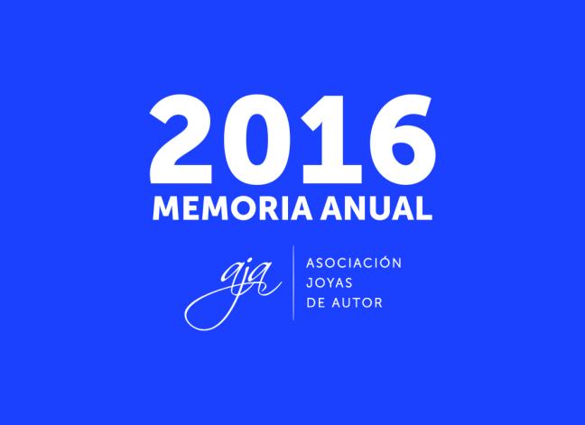 AJA - Memoria Anual 2016